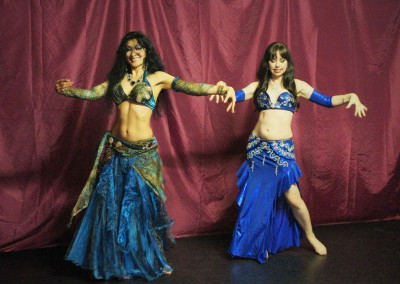 Bellydancers in east London