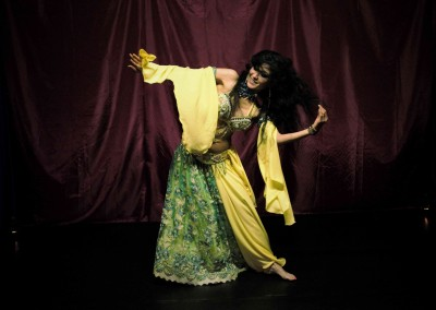 East London bellydancer