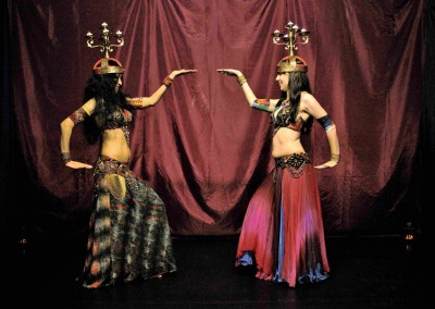 East London bellydancers